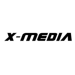 X-MEDIA Logo v2.0_Black 1000x1000